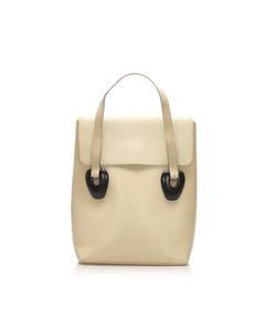 Gucci Leather Handbag White