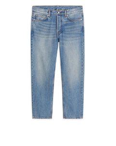 REGULAR Cropped Jeans Blau