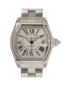 Cartier Roadster Watch Silver