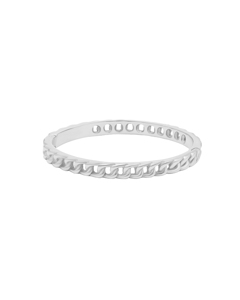 Chain Bangle S Silver