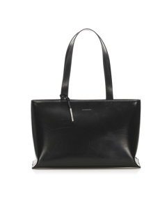 Burberry Leather Tote Bag Black