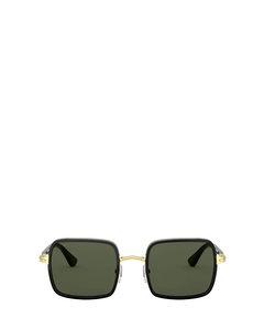 Po2475s Gold & Black Solglasögon