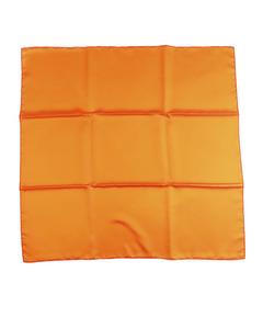 Hermes Silk Scarf Orange