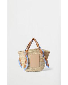 Rodebjer Ocean Straw Bag Sandy Ochre