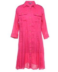1990s Ralph Lauren Shirt Dress