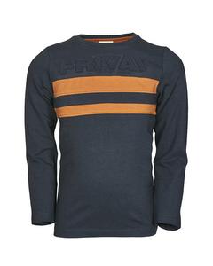 En Fant Ls T-shirt A Classic Navy