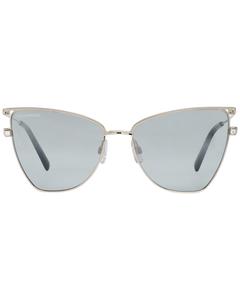 Dsquared2 Mint Women Silver Sunglasses Dq0301 5732b 57-16-140 Mm