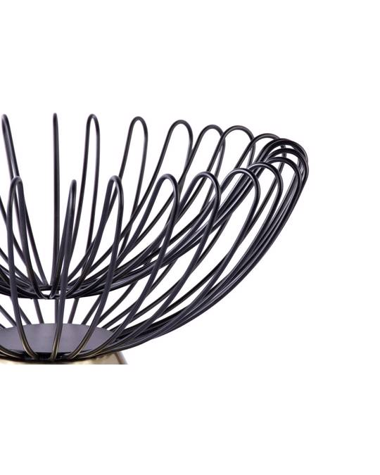360Living Decorative Bowl Malibu 225 Black / Gold