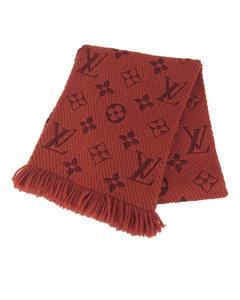 Louis Vuitton Monogram Shawl Red