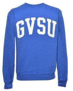 2000s Champion Gvsu Printed Sweatshirt