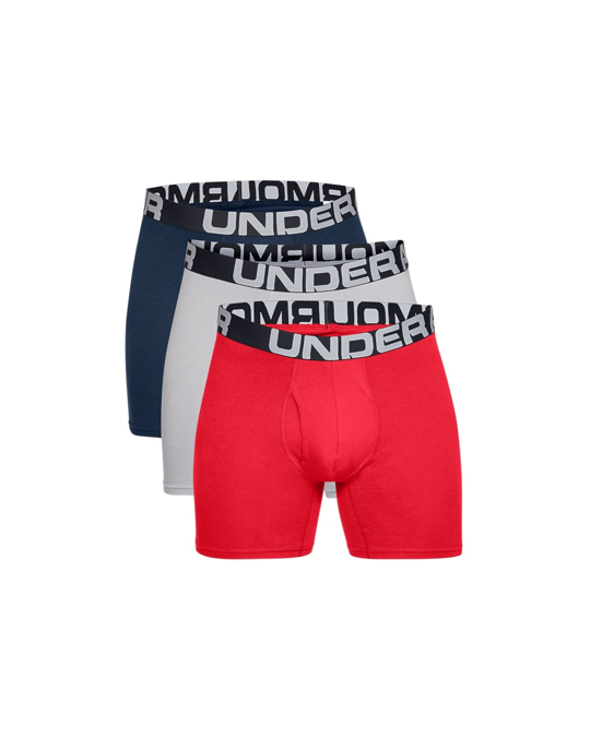 Under Armour Under Armour > Under Armour Charged Cotton 6IN 3 Pack 1363617-600