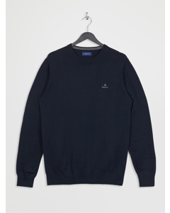 Classic Cotton Crew Evening Blue