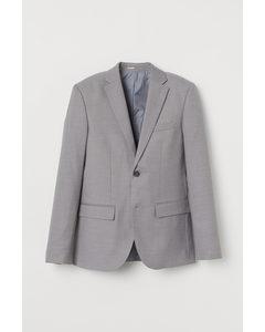 Sakko aus COOLMAX® Slim Fit Grau