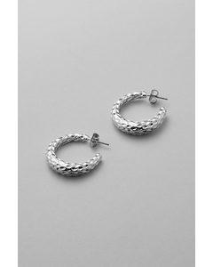 True Hoop Earrings Silver