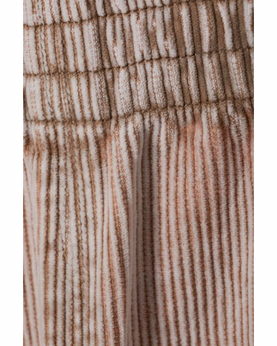 Weekday Jon Wash Cord Joggers Light Brown