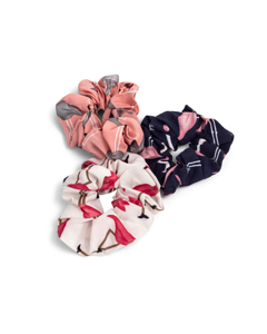 3-pack Scrunchie Mix Multi