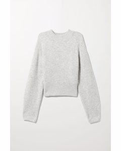 The Jessa Sweater Light Grey