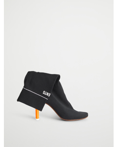 Ankle Socks Boots Black