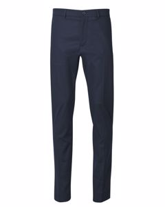 Jax Cotton Stretch Slacks In Navy