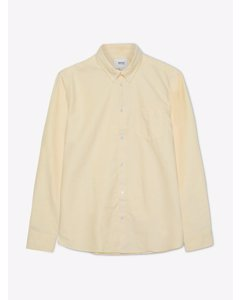 Oden L/s Shirt Regular Fibanana Cream