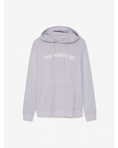 Mike Mirror Hood Hooded Sweatshirtlight Lilac