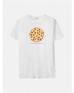Max Peace Pizza S/s T-shirtwhite