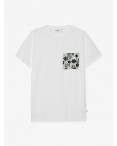 Maxwell Hawaii Pocke S/s T-shirt With Chewhite
