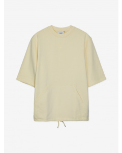 Madison S/s Crewneck Sweatshbanana Cream