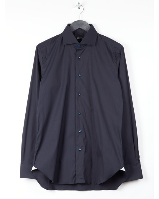 BARBA Napoli Strech Shirt Blue