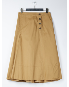 Smith Pleated Skirt Camel