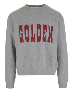 Golden Logo Sweat Red