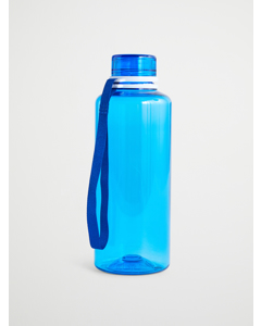 Water Bottle  Blue Solid  Blue Ribbon