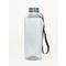 Water Bottle  Fume Solid  Black Ribbon