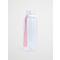 Water Bottle  Transparent  Solid  Pink Ribbon