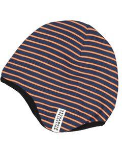 Helmet Hat Marine/orange