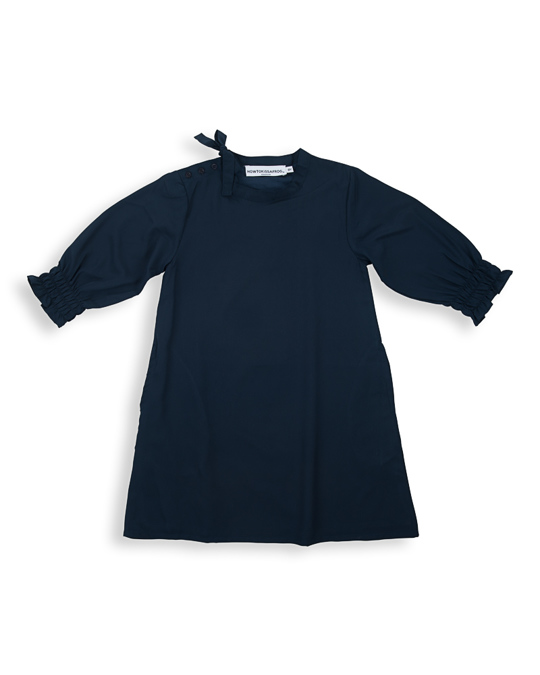 How to Kiss a Frog Martha Dress Navy