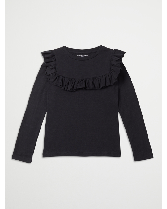 How to Kiss a Frog Frill Jumper Black