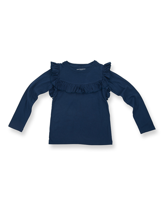 How to Kiss a Frog Frill Jumper Navy