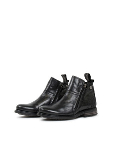 Heron Kids Leather S Black