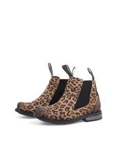 Lance Kids Leather S Beige Leopard