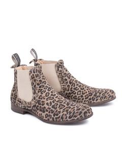 Cumberland Suede Shoe Leopard
