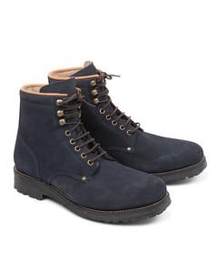 Slacker Suede Shoe Blue