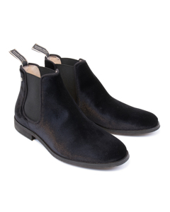 Lomond Velvet Shoe Black