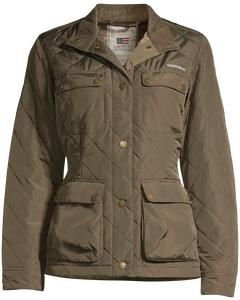 Hedda Quilted Jacket Hunter Green