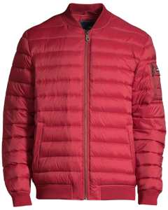 Aiden Bomber Down Jacket Rio Red
