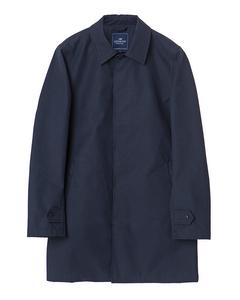 Pierce Overcoat Deep Marine Blue