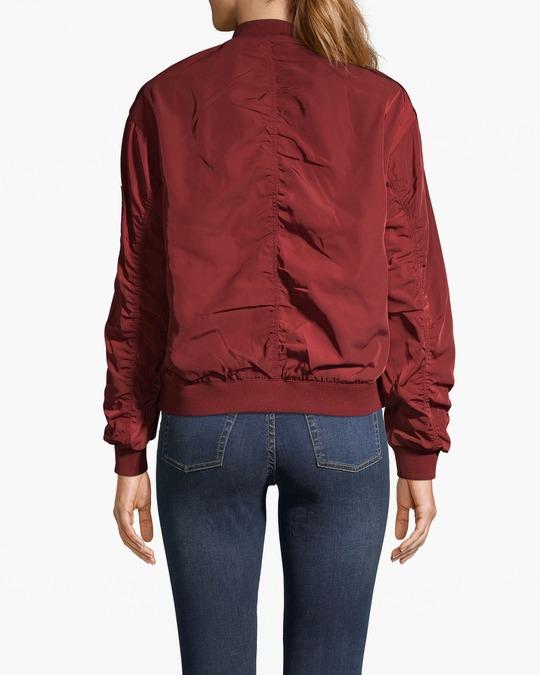 Monki Sassa Jacket Red
