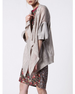 M-cindi Sweater Light Grey Melange