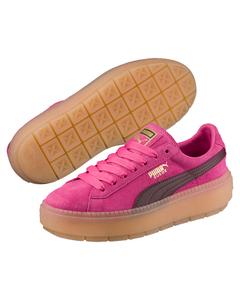 Suede Platformtraceblockwn's Pink
