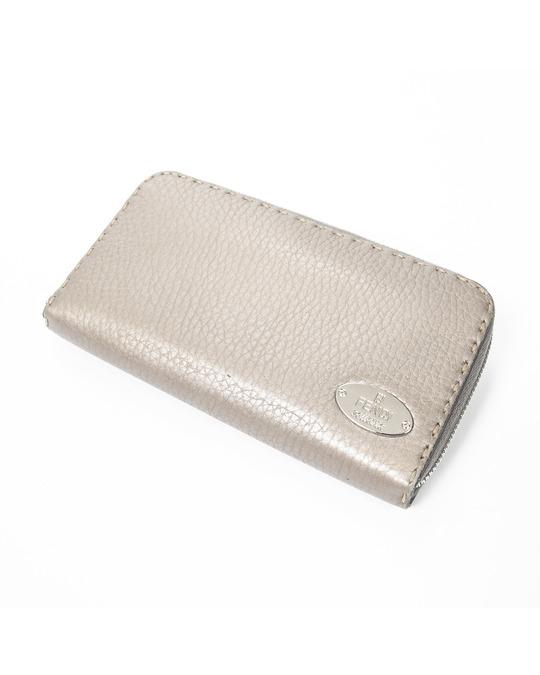 Fendi Selleria Zip Around Wallet